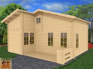 Chalet En Bois Prix : chalet bois habitable en kit mod le orme 33 m2 avec mezzanine ~ Premium-room.com Idées de Décoration