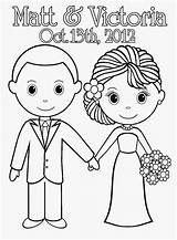 Coloring Pages Printable Bride Couple Groom Sheets Activity Books Weddings Adult Colouring Sheet Bridal Template Married Dead Hand Anniversary Cinderella sketch template
