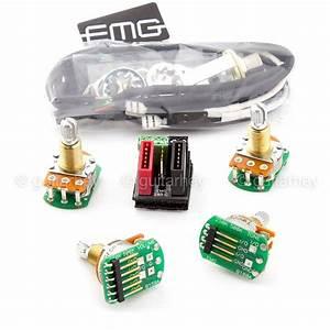 New Emg Solderless Wiring Conversion Kit For 1  2 Pickups