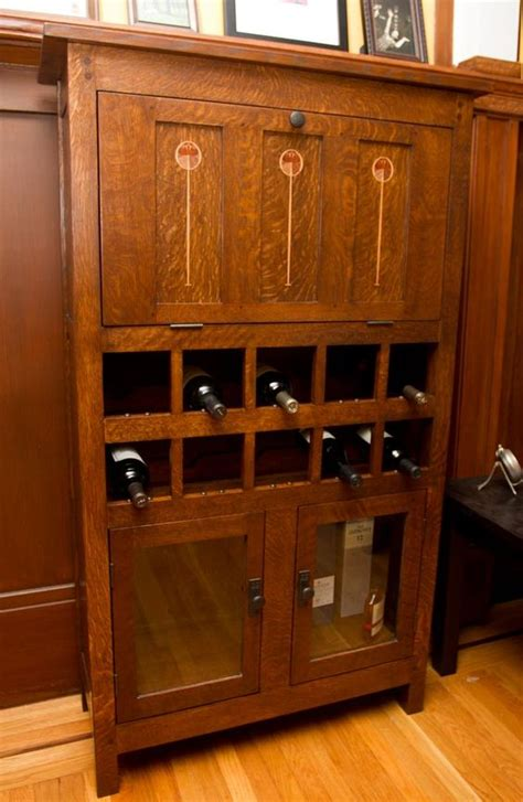 Mission Style Liquor Cabinet Diy Project Woodwork