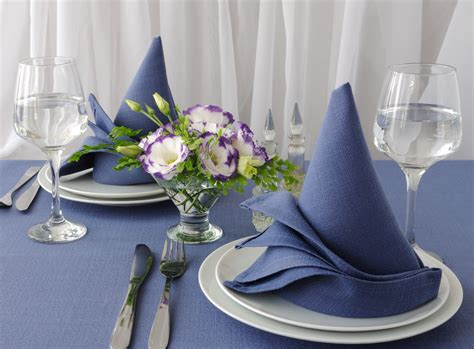 napkin folding ideas  spruce   restaurants tables