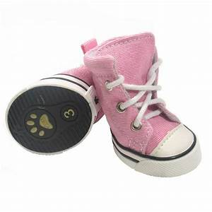 pink sneaker dog shoes english bulldogs pinterest With shoes for my dog