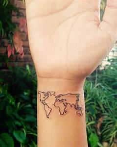 Vintage world map tattoo www pixshark com images galleries with a bite world map tattoo wrist www pixshark com images galleries with a bite gumiabroncs Images