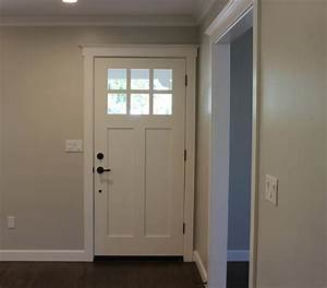 Craftsman style exterior colors front interior door trim for Interior trim and door color ideas