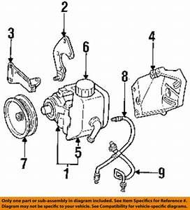 Jeep Chrysler Oem Grand Cherokee Power Steering Pump