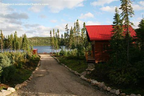 chalet 224 louer saguenay lac st jean saguenay chalets en bois rond pourvoirie id 1497