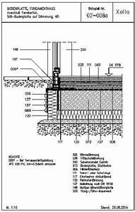 Bodenplatte Aufbau Altbau : cad detail 02 008a anschlu fenstert r stb bodenplatte ~ Lizthompson.info Haus und Dekorationen