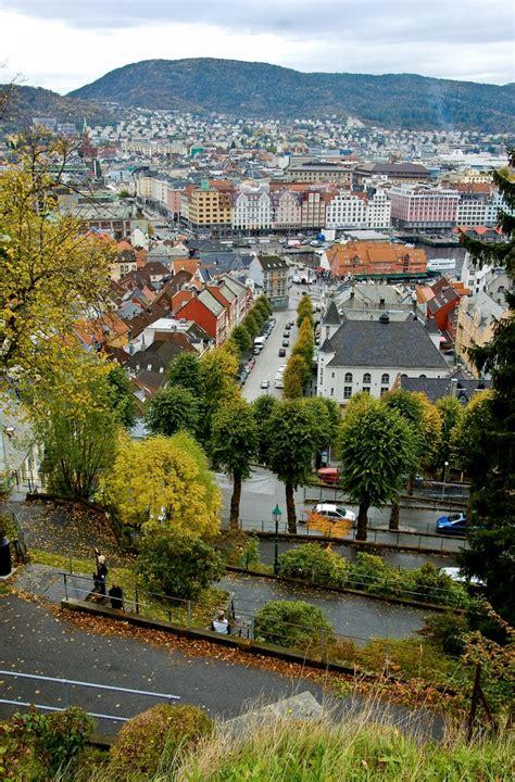 City Center Of Bergen Norway Norway Pinterest