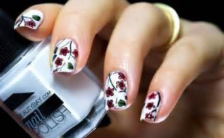 HD wallpapers fotos de unhas decoradas flores