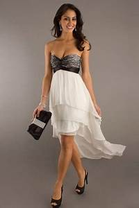 robe bustier elegante en dentelle courte devant longue With robe courte bustier