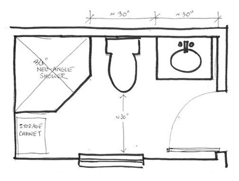 bathroom floor plans shower only 25 best ideas about 5x7 bathroom layout on Small