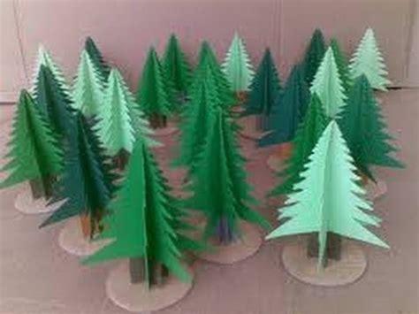 como adornar un arbol de navidad de papel como hacer arbolitos de papel manualidades para ni 209 os