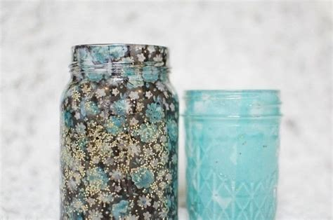 decorating jars with fabric fabric jar luminary diy 183 how to make a votive candle