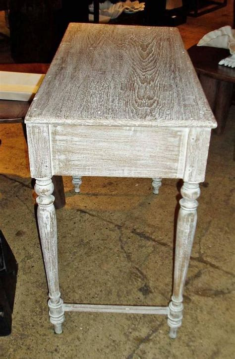 white washed table ls white washed table at 1stdibs