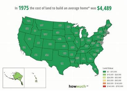 Land Cost Map Much Value Prices Rising