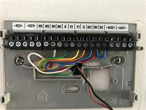 Connecting Honeywell Rth9580wf Thermostat To Trane