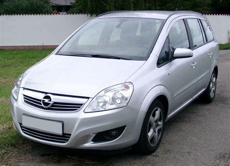 Opel Zafira by Vauxhall Zafira Opel Zafira Review And Photos