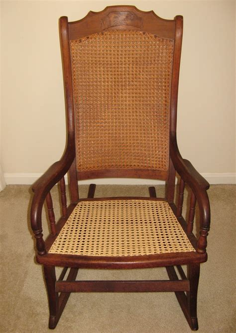 recaning a rocking chair big wood and rocking chair collectors weekly