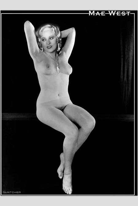 Mae West - Celebrity Porn Photo