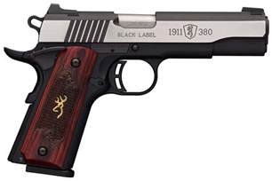 Browning 1911-380 Black Label new pistols for 2017 ...