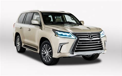 Lexus Lx 570 Offers 2row Option For More Cargo