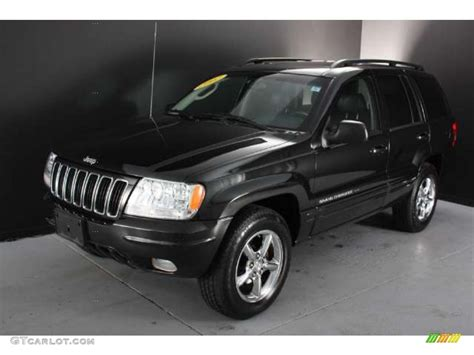 black jeep grand cherokee black 2002 jeep grand cherokee limited 4x4 exterior photo