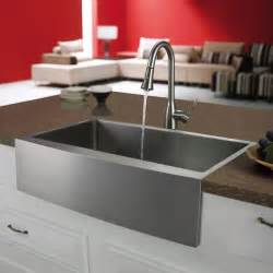 kitchen faucet and sink combo vigo premium series farmhouse stainless steel kitchen sink and faucet vg14015 modern kitchen
