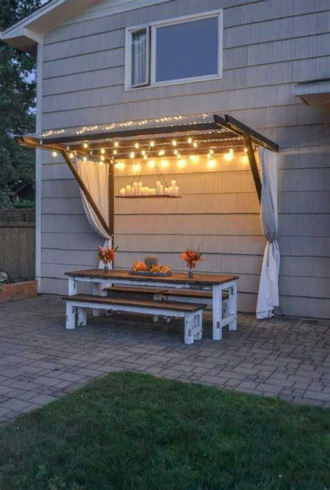 best 25 backyard string lights ideas on patio