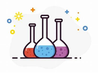 Flask Volumetric Erlenmeyer Science Clipart Laboratory Chemistry