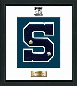 staples high school in connecticut varsity letter frame in With high school varsity letters