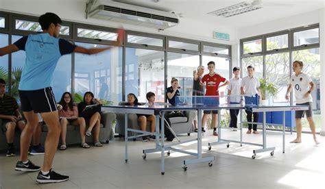 inter house table tennis tournament marlborough college malaysia