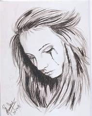 Broken Heart Pencil Drawing