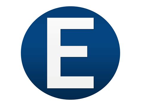 e by design blue white letter e logo design png 171 free to use images
