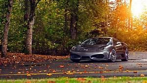 Full HD Wallpaper ferrari scuderia sports car autumn ...