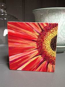 Pics For > Acrylic Painting Flowers Simple