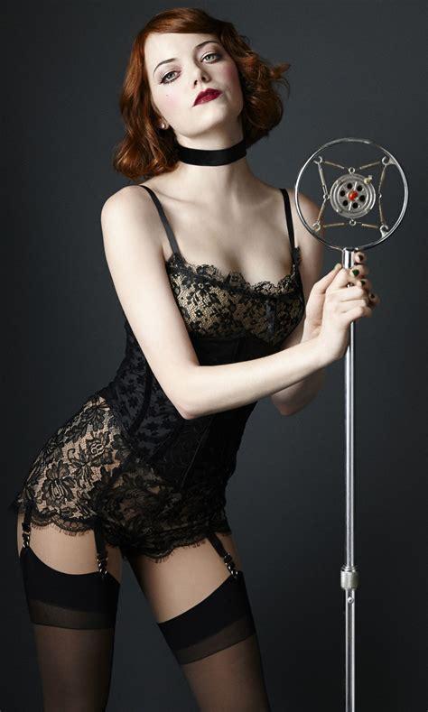 Emma Stone Cabaret Promo Pictures Hawtcelebs Hawtcelebs