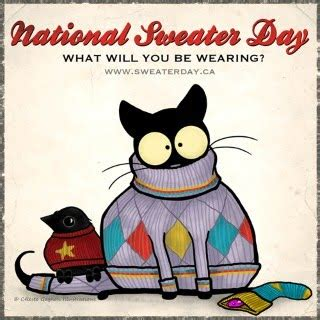 national sweater day national sweater day feb 2 st bernard