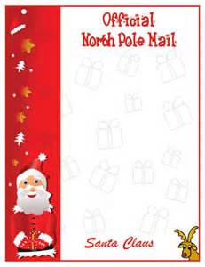 Free Printable Letters From Santa Claus Templates