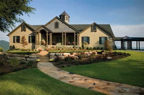 "Remodel Of A 1980""s Ranch House  Traditional Exterior"