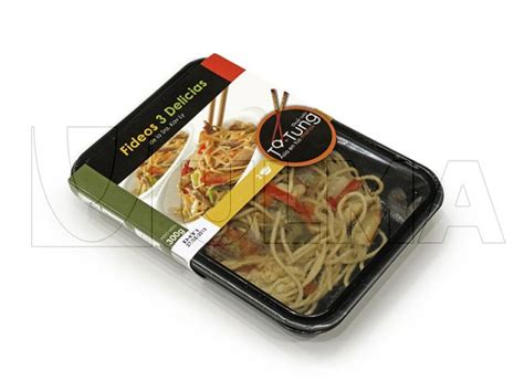 Modified Atmosphere Packaging Cooked by Cooked Noodles Packaging In Traysealing With Modified