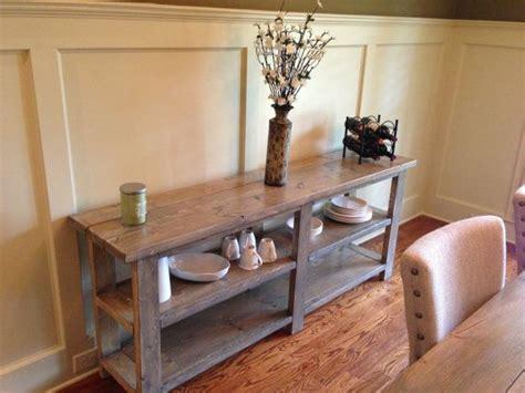 sofabuffetside table farmhouse  etsy  rustic