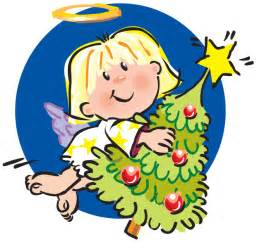 Christmas Angel Tree Clip Art
