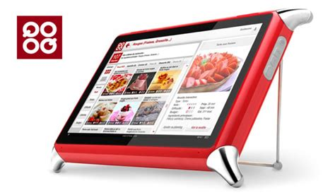 tablette cuisine qooq the 7 exclusive journal tablette qooq un coach tactile en