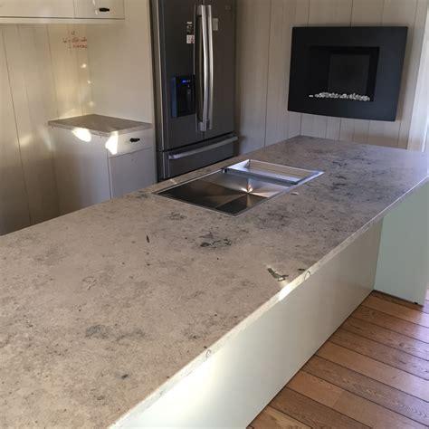 limestone countertop modern kitchen