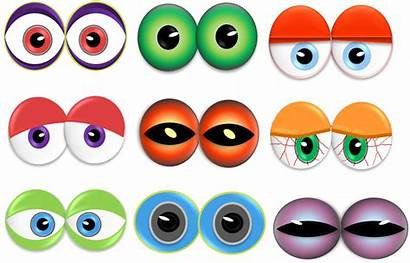 Monster Clipart Eye Eyes Nose Printable Clip