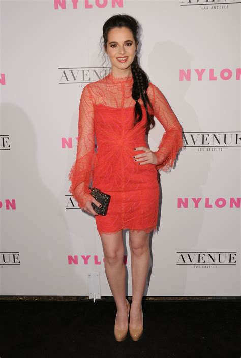 vanessa marano nylon young hollywood party  los