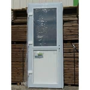 porte de service pvc vitree porte de service pvc 1 2 vitr 233 e 205x80 porte pvc mastock