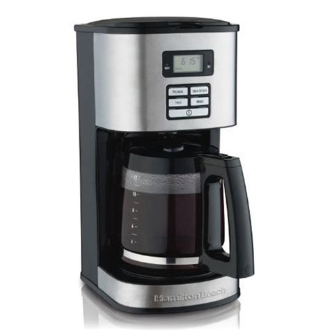 Either you could prepare the coffee for yourself, and even serve it to your family or a gang of people. Hamilton Beach 12-Cup Coffee Maker, Programmable (49618) - Walmart.com - Walmart.com