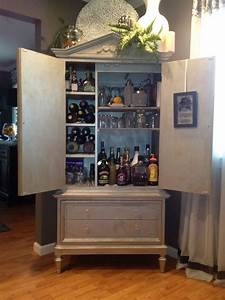 Up Cycled Armoire Armoires Bar And Liquor Cabinet