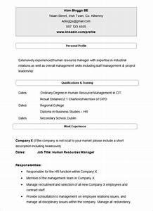 21 hr resume templates doc free premium templates With hr cv